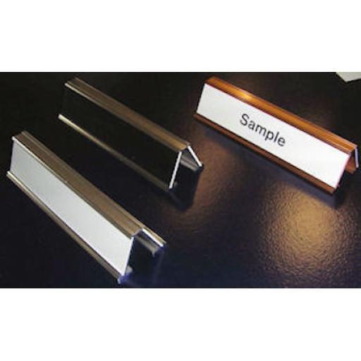 Double sided desk top sign - DTT