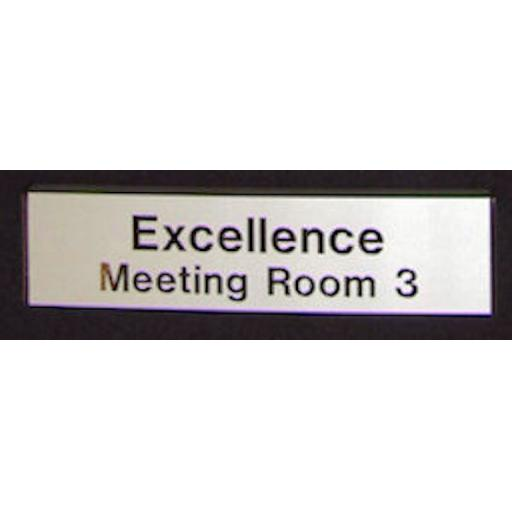 ADW30077F Fixed Door Sign - Large