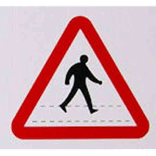 Class 1 Reflective Traffic Sign - Crossing