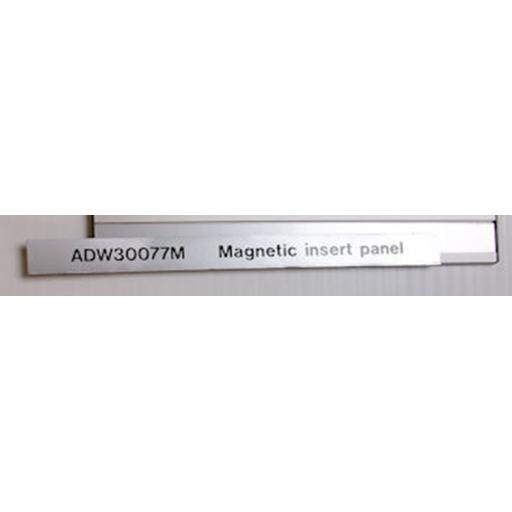 Magnetic Changeable Message insert for ADW30077M