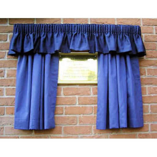 Unveiling curtain hire - Bronze Package