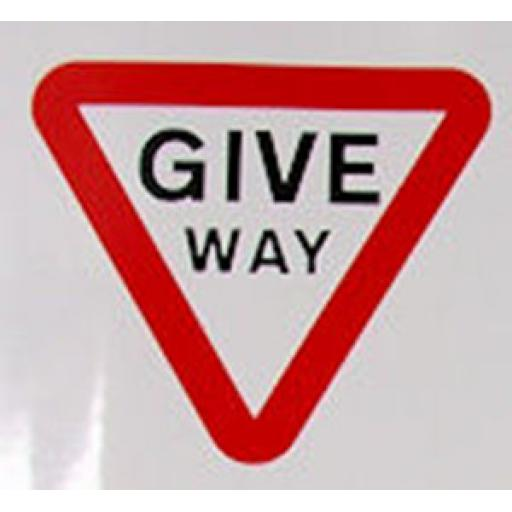 Class 1 Traffic Sign - Give Way