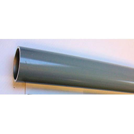 KL89AL - 89mm diameter grey coated Aluminium Sign Post